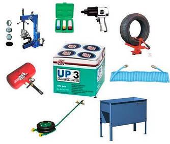 Додаткове обладнання для шиномонтажу