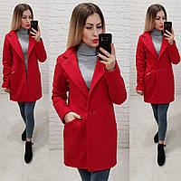 Пальто, арт 821/1, красный, фото 1
