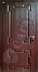 Модель 107 входные двери Саган Стандарт, Николаев