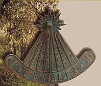 Солнечные часы, бронза, фото 1