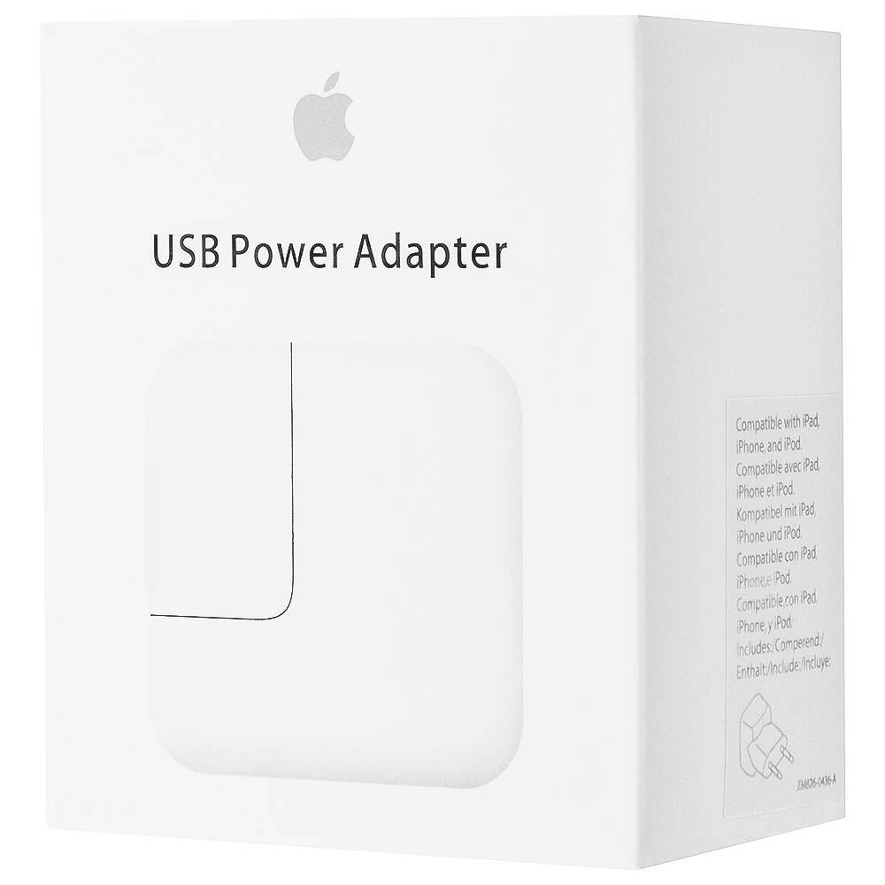 Сетевое зарядное устройство Apple 12W USB Power Adapter для iPad (MD836ZM/A)