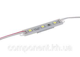 Светодиодный модуль SMD 5050, 3LED Plastic IP65 Econom