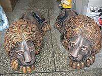 Садовая скульптура Пара Львов  29*80 см