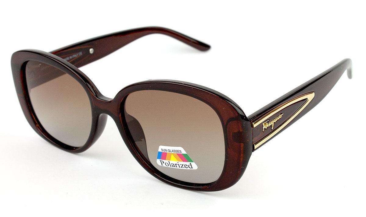 Солнцезащитные очки Salvatore-Ferragamo 1005P-C2 (Реплика)