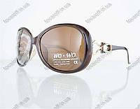 Очки женские солнцезащитные поляризационные - Коричневые - 062, фото 1