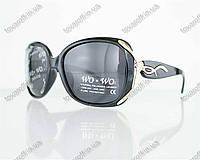 Оптом очки женские солнцезащитные поляризационные - Черные - 8164, фото 1