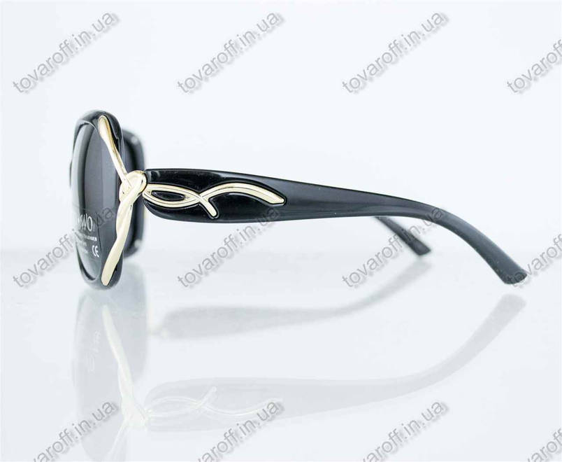 Оптом очки женские солнцезащитные поляризационные - Черные - 8164, фото 2