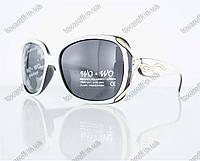Оптом очки женские солнцезащитные поляризационные - Белые - 8164, фото 1