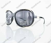 Оптом очки женские солнцезащитные поляризационные - Черные - 8140, фото 1