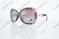 Оптом очки женские солнцезащитные поляризационные - Коричневые - 1561, фото 1