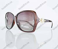 Оптом очки женские солнцезащитные поляризационные - Коричневые - 1553, фото 1