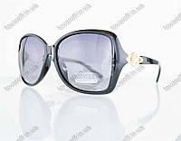 Оптом очки женские солнцезащитные поляризационные - Черные - 1553, фото 1