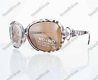 Оптом очки женские солнцезащитные поляризационные - Коричневые - 068, фото 1