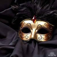 Карнавальные маски и очки - перчатки