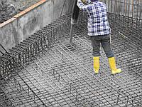 Бетонные работы: фундамент, армопояс, полы ю, фото 1