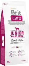 Brit Care Junior Large Breed Lamb & Rice 12kg (для щенков гигантских пород)