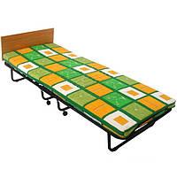 Раскладная кровать (раскладушка) на ламелях с подголовником Италия