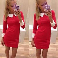 Женское платье воротничок, платье, платья женские недорого, плаття