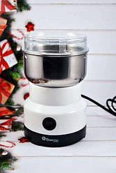 Электрическая кофемолка Domotec MS 1106, 150 Вт, Белая