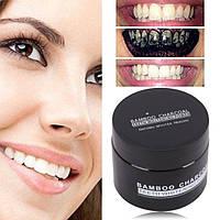 Отбеливатель зубов Miracle Teeth Whitener   черная зубная паста