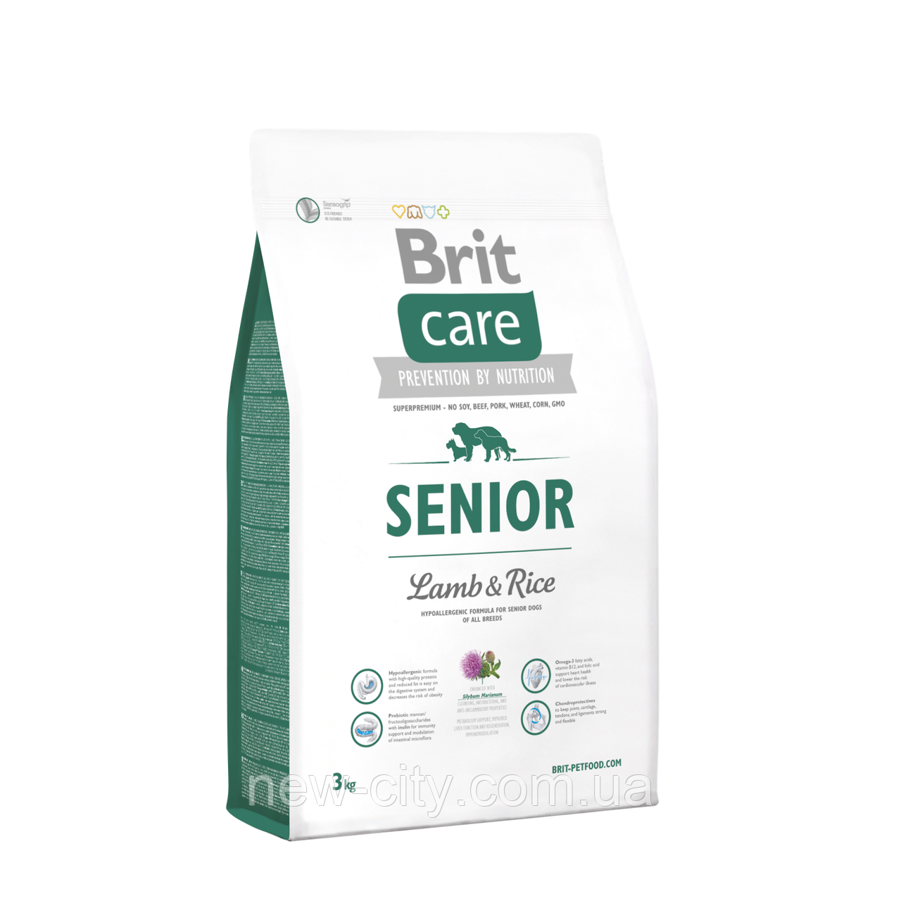 Brit Care Senior Lamb & Rice  3kg (для пожилых собак)