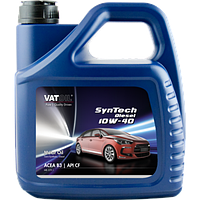 Масло моторное VATOIL SynTech 10W40 Diesel (ACEA A3/B3/B4, API SL/CF, MB 229.1), 4 л, VATOIL, 50232
