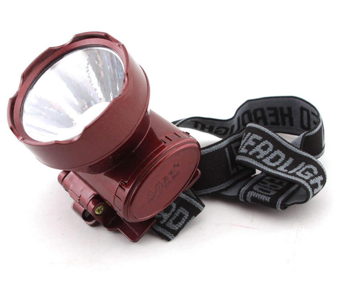 Налобный аккумуляторный фонарь YAJIA YJ-1898-1 | фонарик на лоб