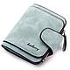 Женский замшевый кошелек Baellerry Forever  N 2346 | клатч | портмоне голубой джинс, фото 6