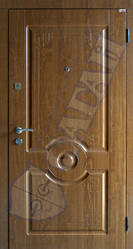 Модель 124 входные двери Саган Стандарт, Николаев
