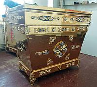 Гробница-рака из булата с декором (спецзаказ), фото 1