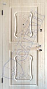 Модель 128 входные двери Саган Стандарт, Николаев