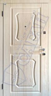 Модель 128 входные двери Саган Стандарт, Николаев, фото 2