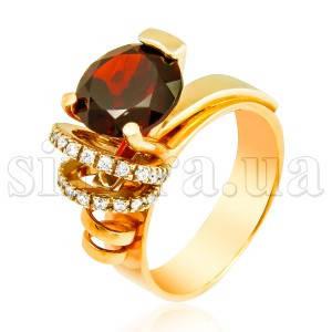 Золотой перстень Идеал 6949