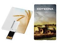 Флешки Plastic Credit Card производства GoodRam, Польша с полноцветной печатью на 8Gb, 16Gb, 32Gb, 64Gb