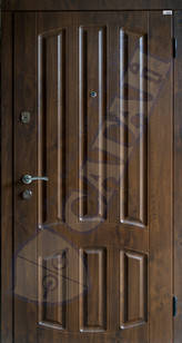 Модель 130 входные двери Саган Стандарт, Николаев, фото 2