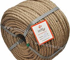 Веревка джутовая JuteRD 6 мм х 100 м – бечевка – канат пеньковый – мотузка джутова – Украина