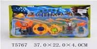 Герои CHIMA 3 героя на планшете 37х22см