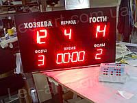 Светодиодное спортивное табло универсальное футбол, баскетбол LED-ART-Sport-1000х600-415