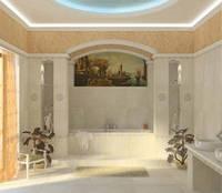 Плитка облицовчная CEZAR (Цезарь) для стен ванной комнат,кухонь,коридора, фото 1