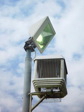 Уничтожитель летающих насекомых для парков и скверов Lamp Post LP-440