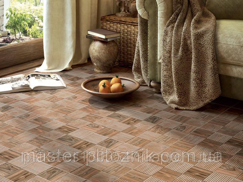 Плитка напольная Interkerama 430х430 для ванной, кухни, коридора, для пола  FAGGIO