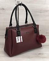 db40e71b27f2 Женская сумка бордового цвета в Украине. Сравнить цены, купить ...