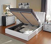 Механизм подъема каркаса двухспальной кровати на пружинах