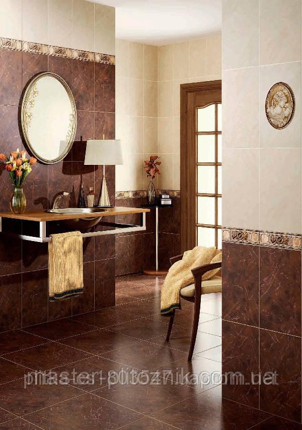 Плитка облицовочная для ванных комнат Петра