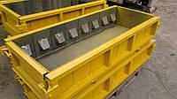 Формы для производства фибропенобетонных блоков с пазом 0,25м³, фото 1