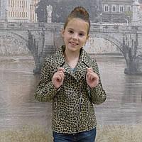 Детская курточка под леопарда, фото 1