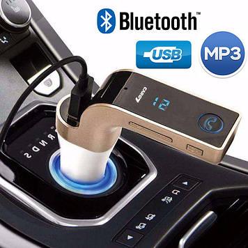 Авто FM модулятор Car G7 (4 в 1) FM Modulator Bluetooth + USB + microSD Трансмиттер