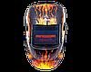 Сварочная маска хамелеон Титан S777В  (пламя), фото 2