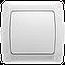 Viko Carmen Белый - Крем выключатель одно-клавишный
