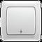Viko Carmen Белый - Крем выключатель перекрестный
